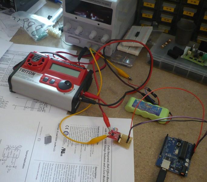 lucadentella it – Current sensor with Arduino