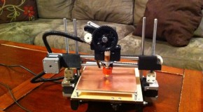 Printrbot, a kickstarted 3d printer