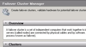 Windows 2008 – Tasks on a cluster node