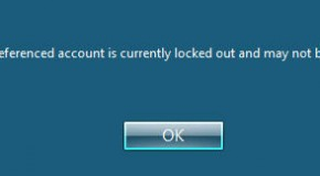 Windows: what an account is locked by?