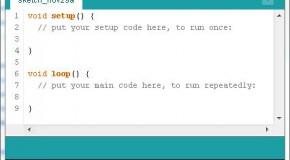 Arduino IDE 1.5.5