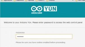Yún – Wifi connection
