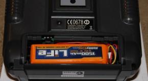 4ld: batteria per la trasmittente Turnigy 9x