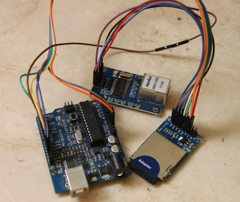 SDWebServer – enc28J60 and Arduino (20) | LinkSprite