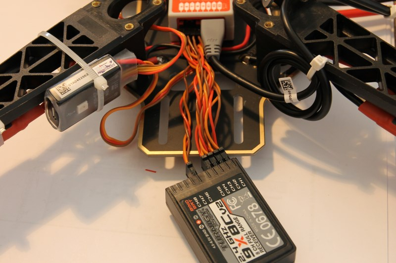 lucadentella it – 4ld: receiver and flight controller