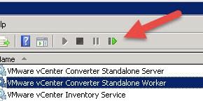 vCenter Converter: Configurare manualmente la Helper VM