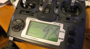 Caricare il firmware er9x sulla trasmittente Turnigy 9x