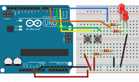 lucadentella it – Arduino, delay() vs millis()