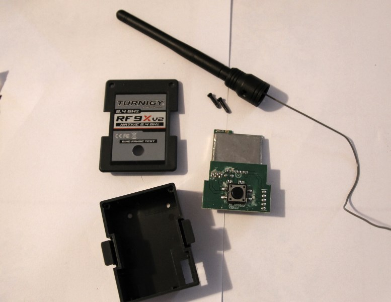 lucadentella it – Install the FrSky tx module in the Turnigy