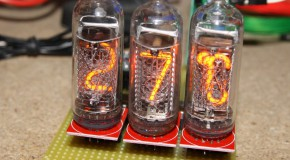 Nixie thermometer – let's display the temperature
