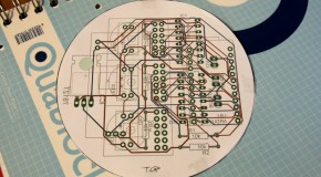 Nixie thermometer – PCB