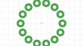Eagle – Posizionare i pin in cerchio