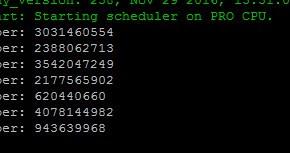 ESP32 (10) – Random number generator