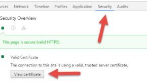 Google Chrome, visualizzare il certificato SSL di un sito