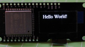 ESP32 (25) – Oled display with U8G2