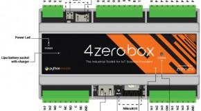 4zerobox, modulo industriale italiano con cuore ESP32