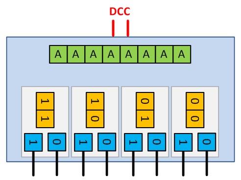 lucadentella it – DCC, led accessory decoder