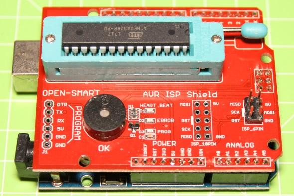 Lucadentella arduino bootloader and isp